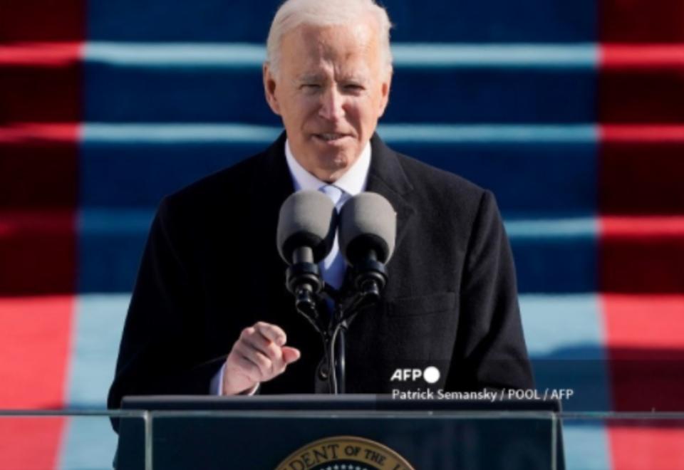 Joe Biden, investidura