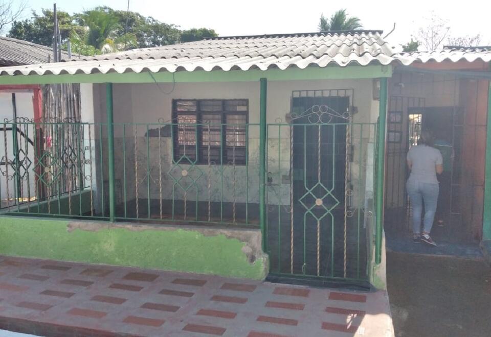 Casa de reunión del grupo religioso en Sabanalarga (Atlántico)