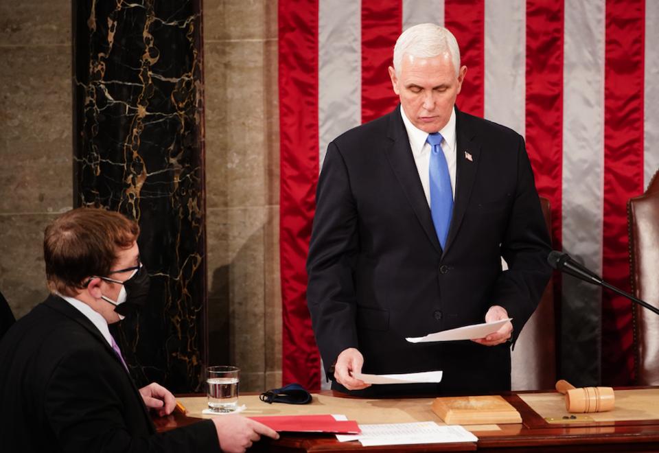 Vicepresidente de EE.UU. Mike Pence