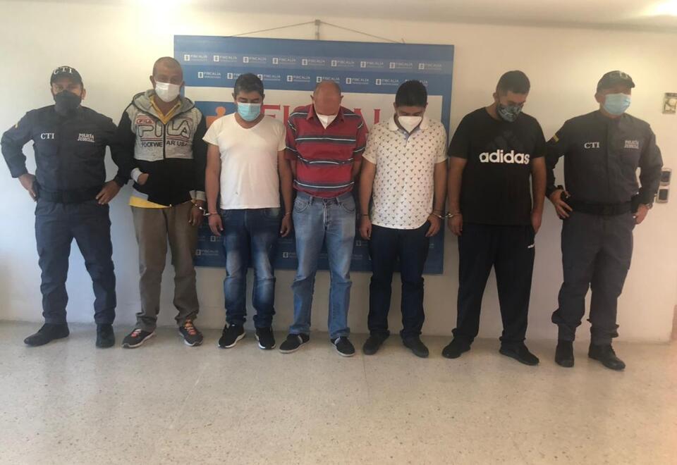La Fiscalía logró asociar 71 casos de varios clientes de una entidad bancaria en Bogotá.