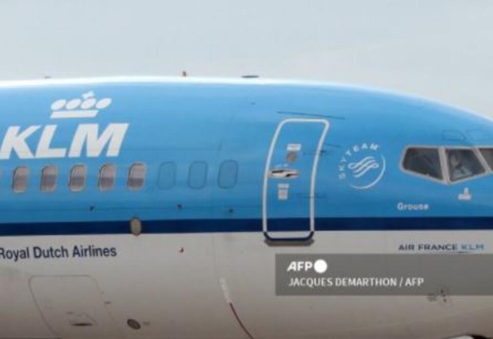 Avión aerolínea KLM Royal Dutch