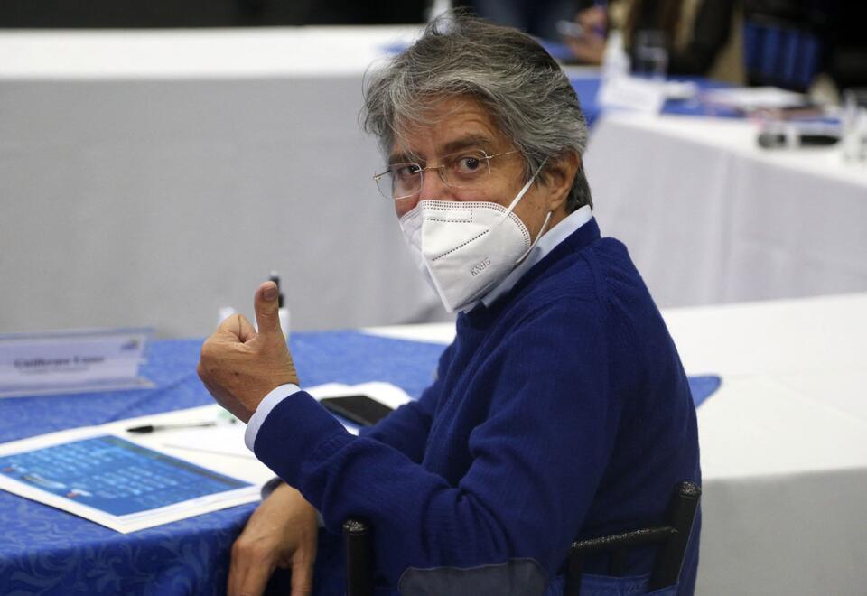 Guillermo Lasso, candidato de derecha en elecciones en Ecuador