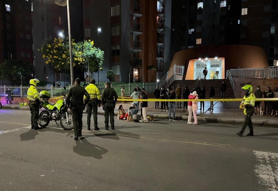 El hecho tiene aterrados a los habitantes de Pontevedra en Bogotá.