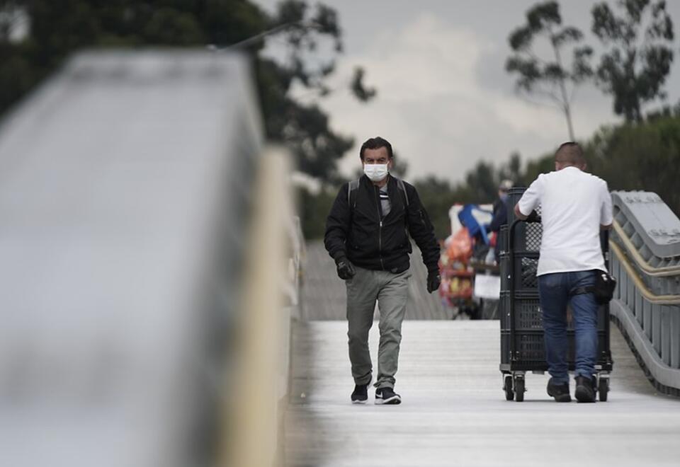 Uso de tapabocas en Colombia es obligatorio por la pandemia