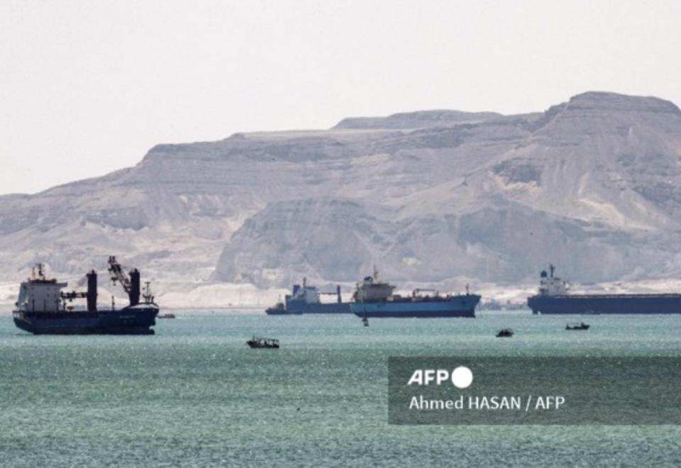 Bloqueo en el canal de Suez