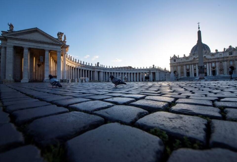 Plaza de San Pedro, El Vaticano