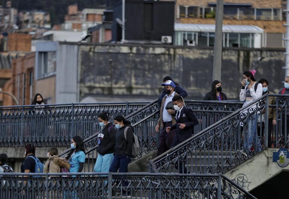 Bogotá se encuentra en medio de restricciones 4x3 por el coronavirus