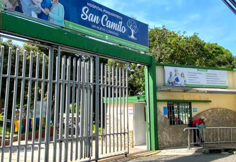 Hospital Psiquiátrico San Camilo en Bucaramanga