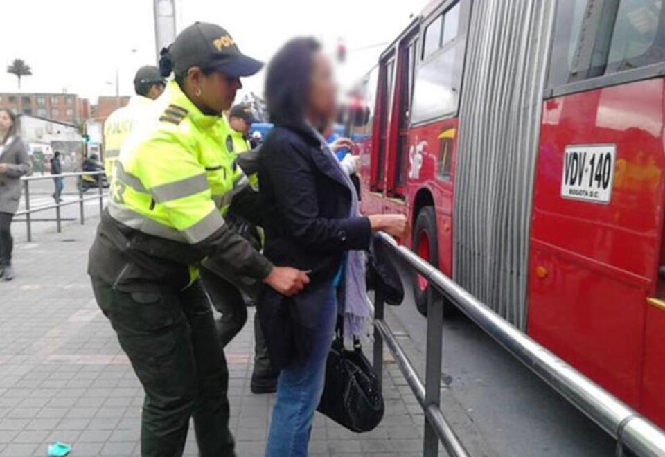 Seguridad en TranMilenio