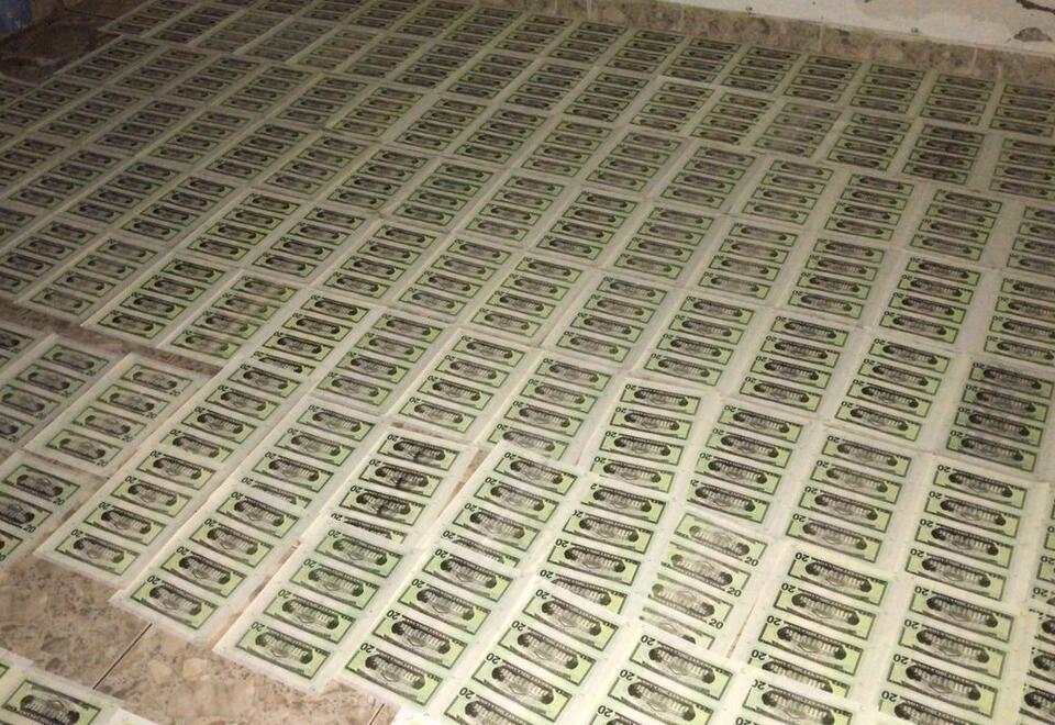 Dólares falsos Cali