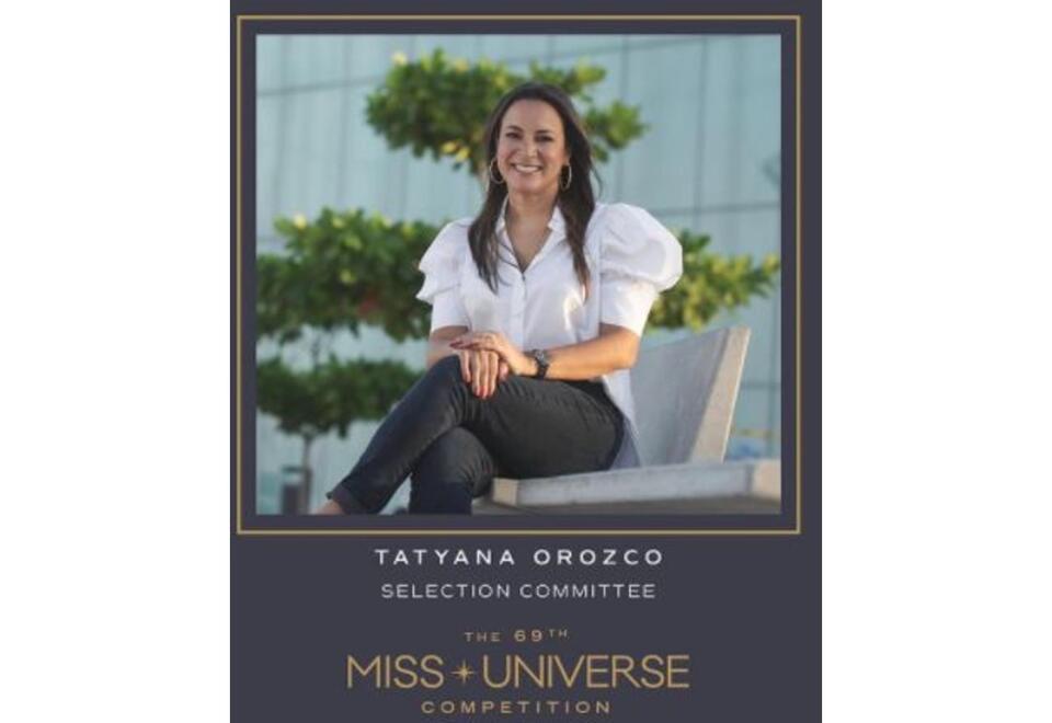 Tatyana Orozco, jurado de Miss Universo