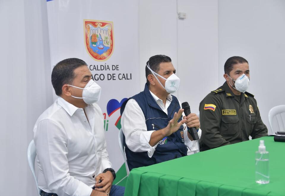 Alcalde de Cali, Jorge Iván Ospina
