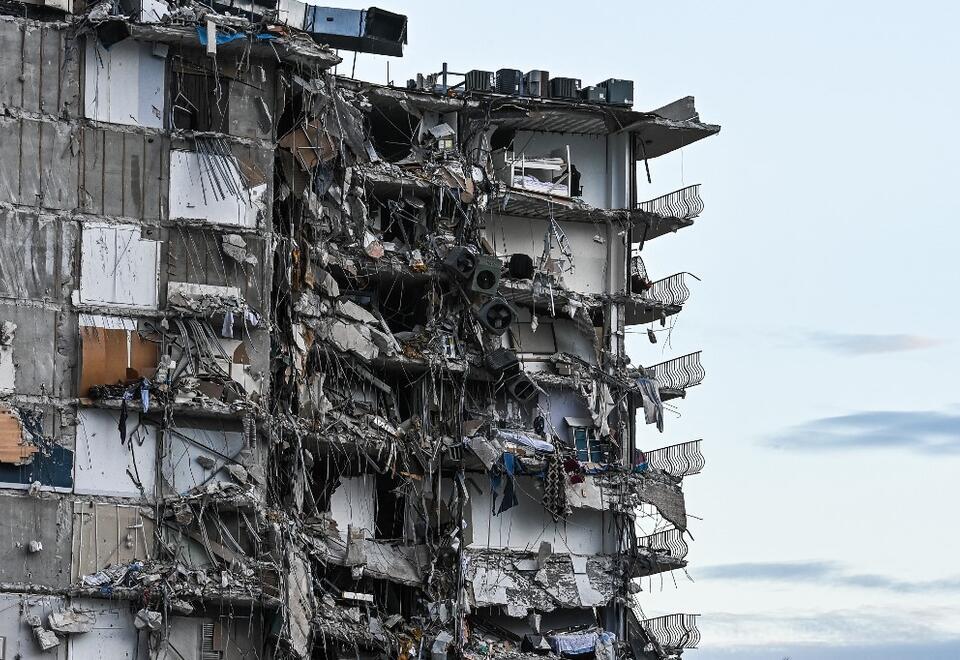 Edificio colapsado Miami