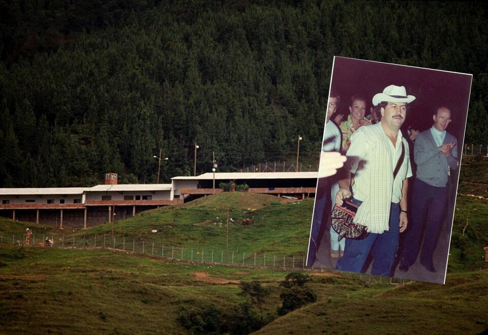 Pablo Escobar y la polémica cárcel La Catedral
