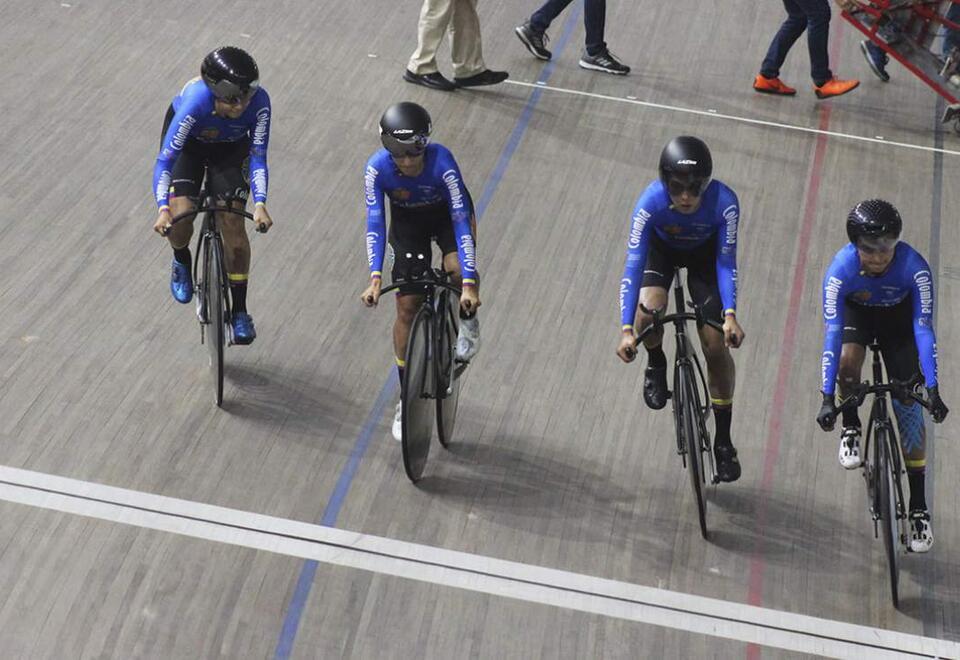 Selección Colombia ciclismo de pista