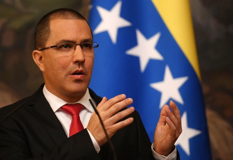 Canciller de Venezuela, Jorge Arreaza.
