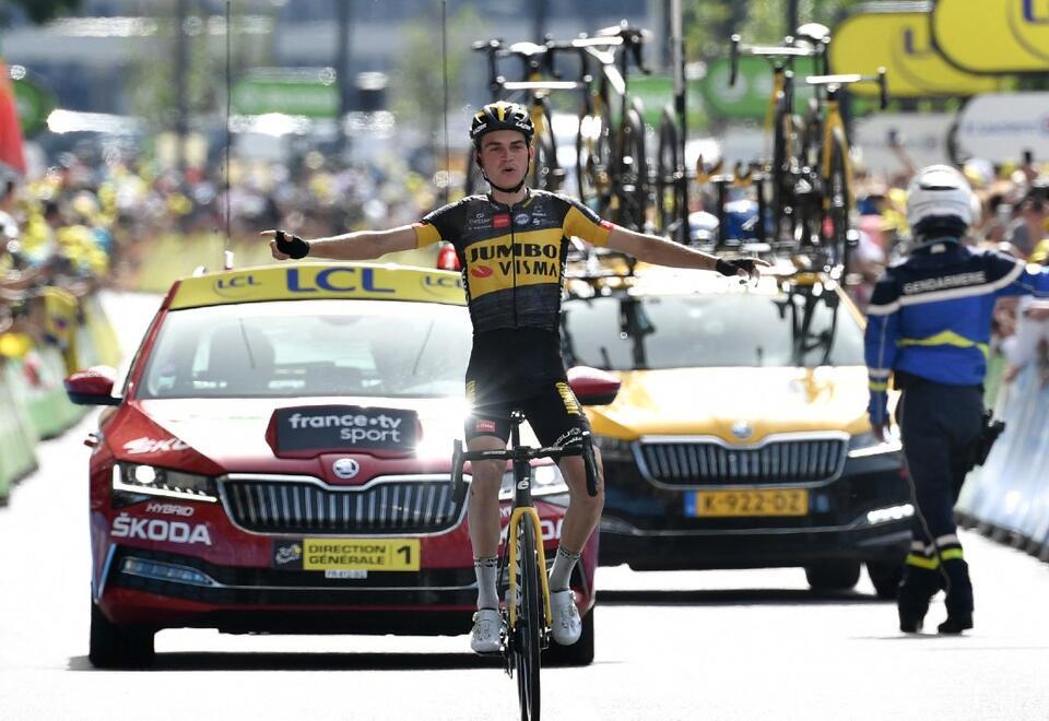 Sepp Kuss ganó etapa 15 del Tour de Francia 2021