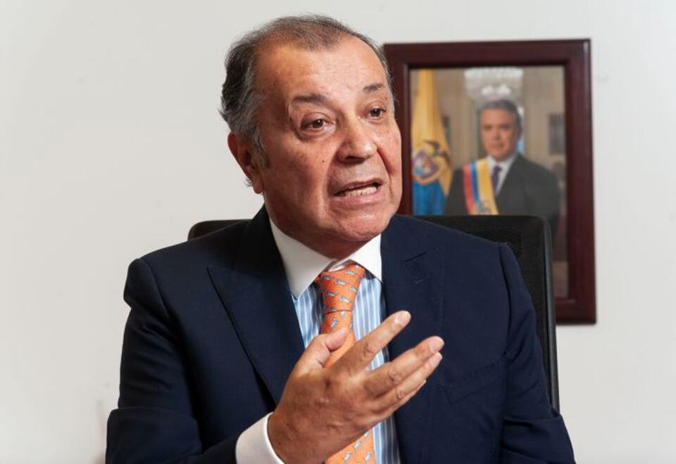 Álvaro Pava Camelo, embajador de Colombia en Argentina
