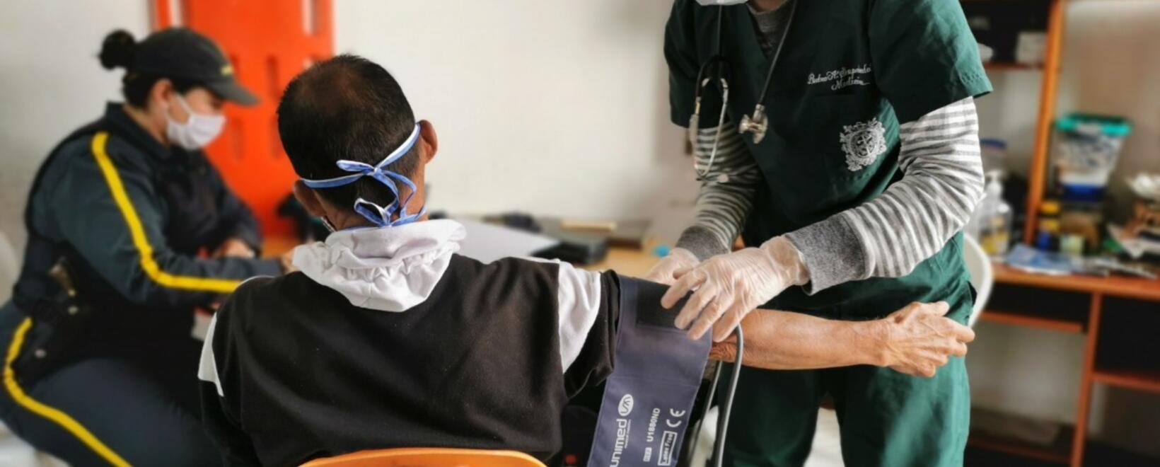 Referencia brigada de salud en Rionegro, Antioquia.