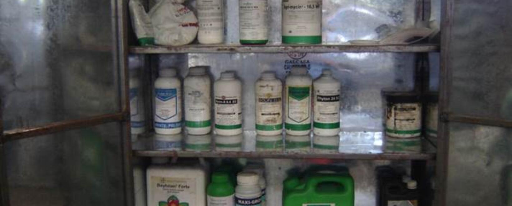 Manejo seguro de agroquímicos
