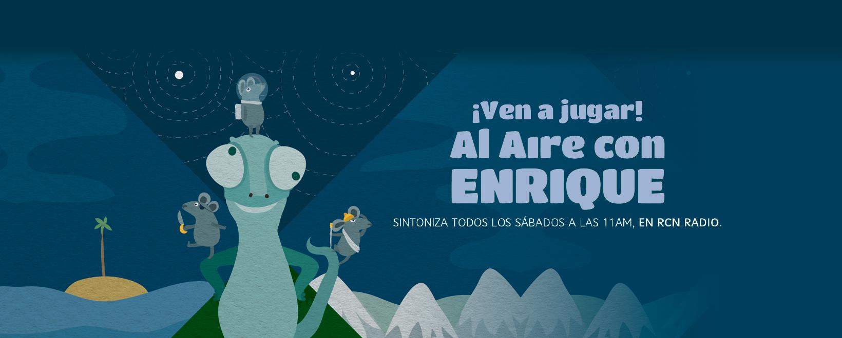 Al aire con Enrique- Capítulo 8: ¡Ven a jugar!