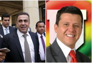 Musa Besaile y Bernardo Ñoño Elías