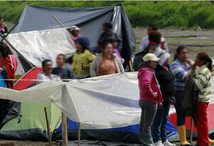 Desplazados Cáceres, Antioquia