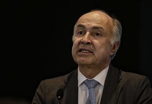 Enrique Gil Botero, ministro de Justicia.
