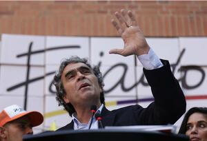 Sergio Fajardo, candidato a la Presidencia.