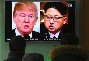Trump y Kim Jon-un
