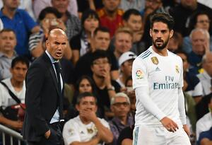 Zidane le respondió a Isco