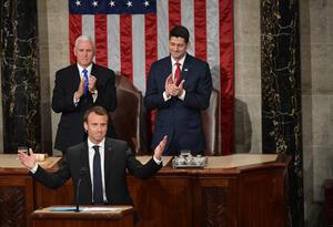 Emmanuel Macron Congreso Estados Unidos