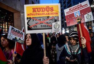 PROTESTAS POR APERTURA DE EMBAJADA DE EE.UU. EN JERUSALÉN