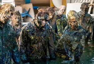 Escenas de The Walking Dead