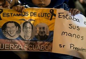 Periodistas asesinados en la Frontera con Ecuador.