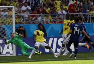 Carlos Sánchez expulsado en partido ante Japón