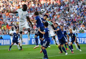 Partido Senegal vs Japón.