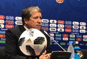 Hernán Darío Gómez, técnico de la Selección de Panamá