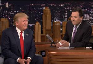 Donald Trump y Jimmy Fallon