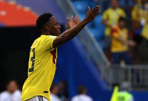 Yerry Mina, el héroe de Colombia ante Senegal en Rusia 2018