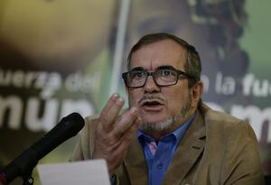Rodrigo Londoño, es el jefe del partido de las Farc