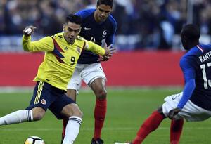 Colombia venció 3-2 a Francia en compromiso amistoso