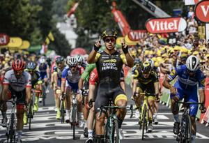 Dylan Groenewegen ganó Etapa 8 del Tour de Francia