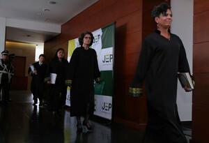 Los magistrados de la JEP