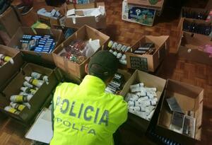 El operativo fue realizado en el centro comercial La Sabana