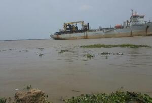 El presente año ha habido restricciones en el canal de acceso al Puerto de Barranquilla, por la falta de dragado continuo.