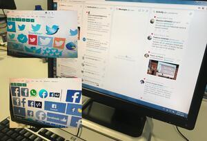 Actividad en Redes Sociales