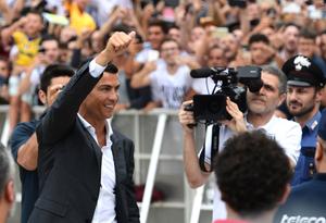 Cristiano Ronaldo, nuevo jugador de la Juventus