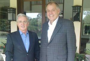Álvaro Uribe y Alejandro Ordóñez, fuerte aliados políticos