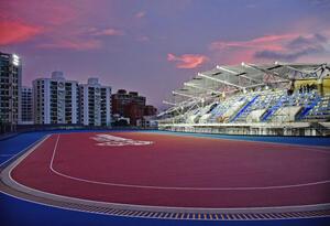 Sede de los Juegos Centroamericanos del Caribe en Barranquilla.